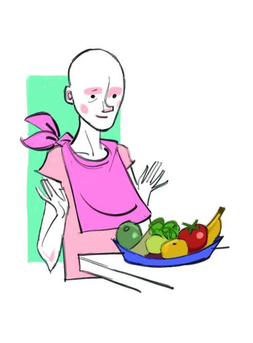 Cáncer y alimentación saludable; prevención