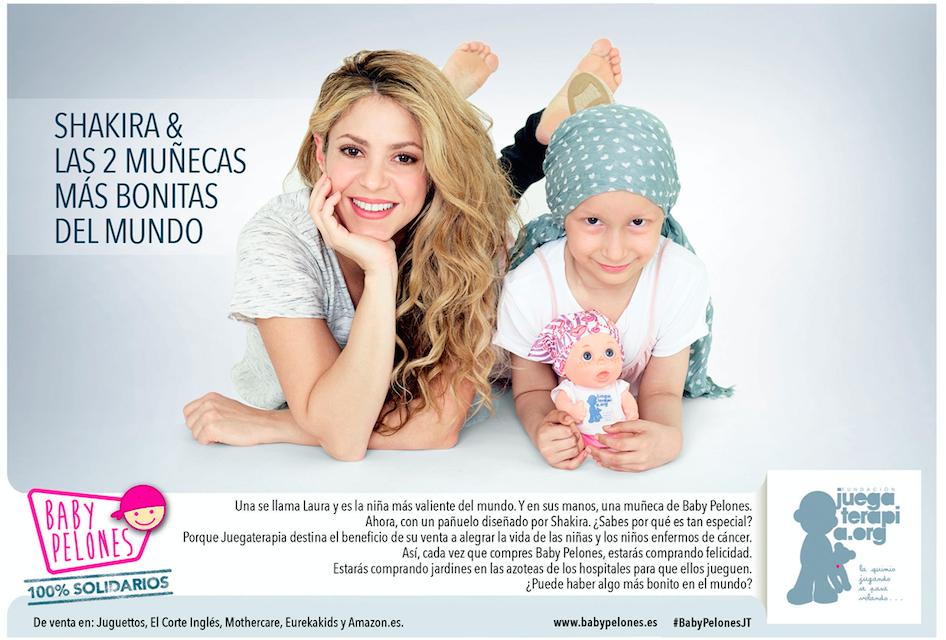 Shakira y Baby Pelón