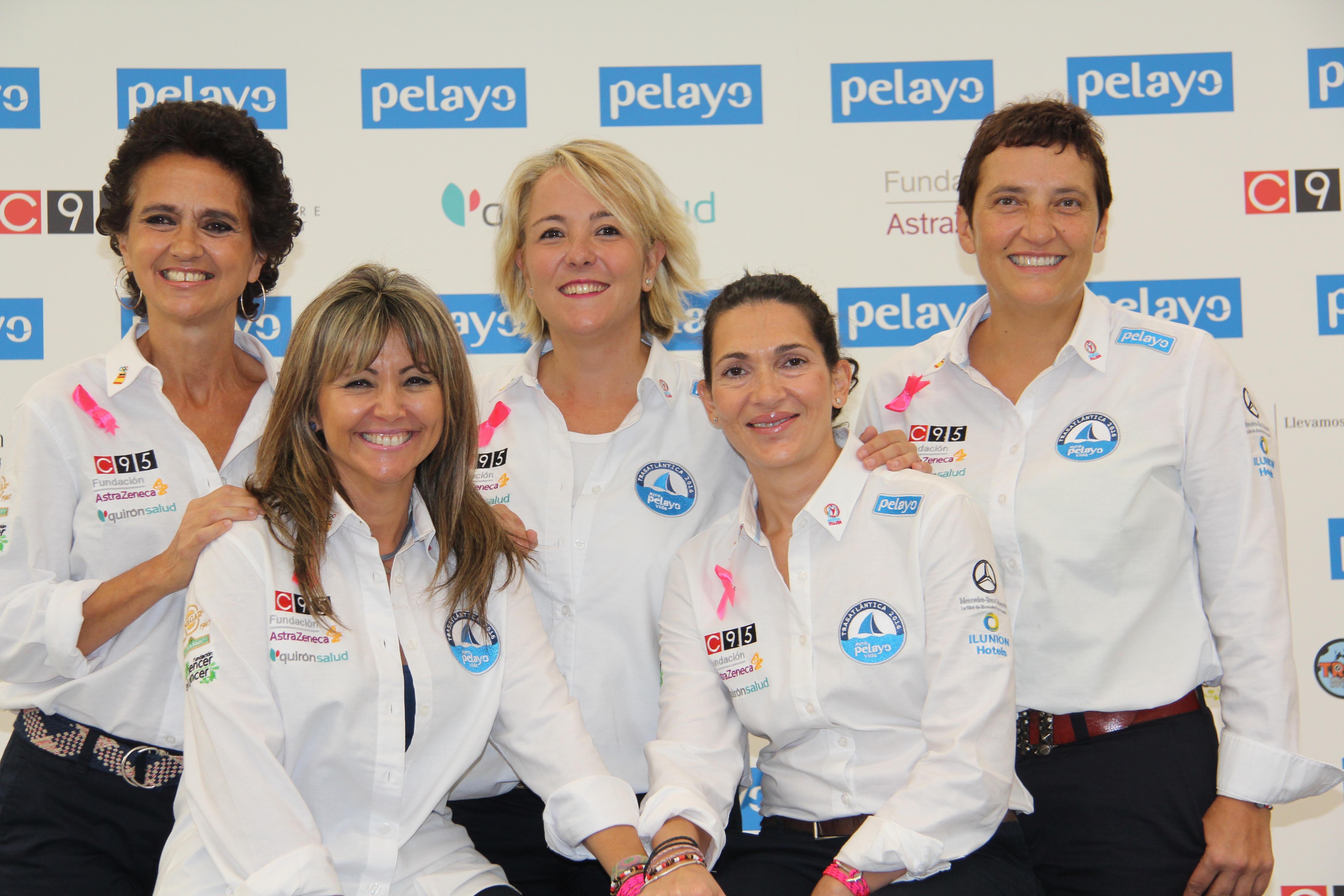 Marían, Yolanda, Patricia, Susana y Carmen