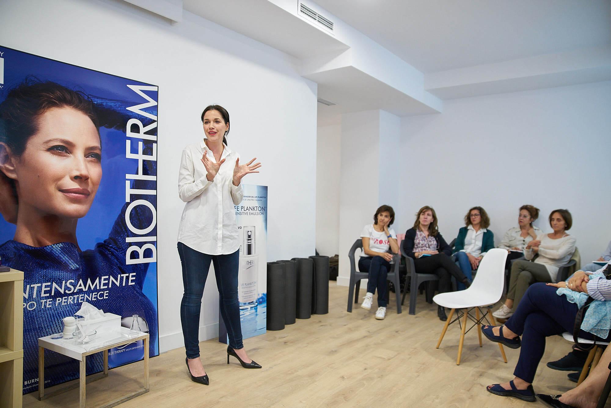 Vanesa Fernández nos cuenta la filosofía de Biotherm