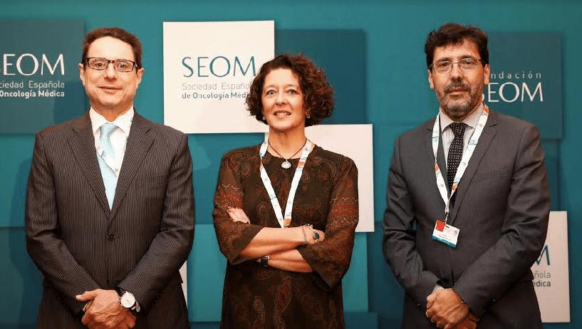 Dr. Miguel Martín, Dra. Ruth Vera, Dr. César Rodríguez
