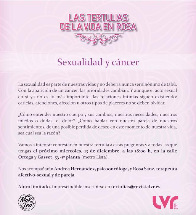 Sexualidad y cáncer