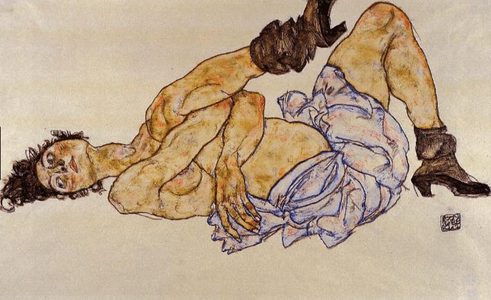 Sexualidad y cáncer Pintura de Egon Schiele