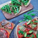 Receta healthy: Pizza verde
