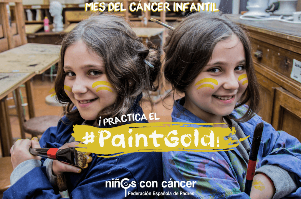 #PaintGold