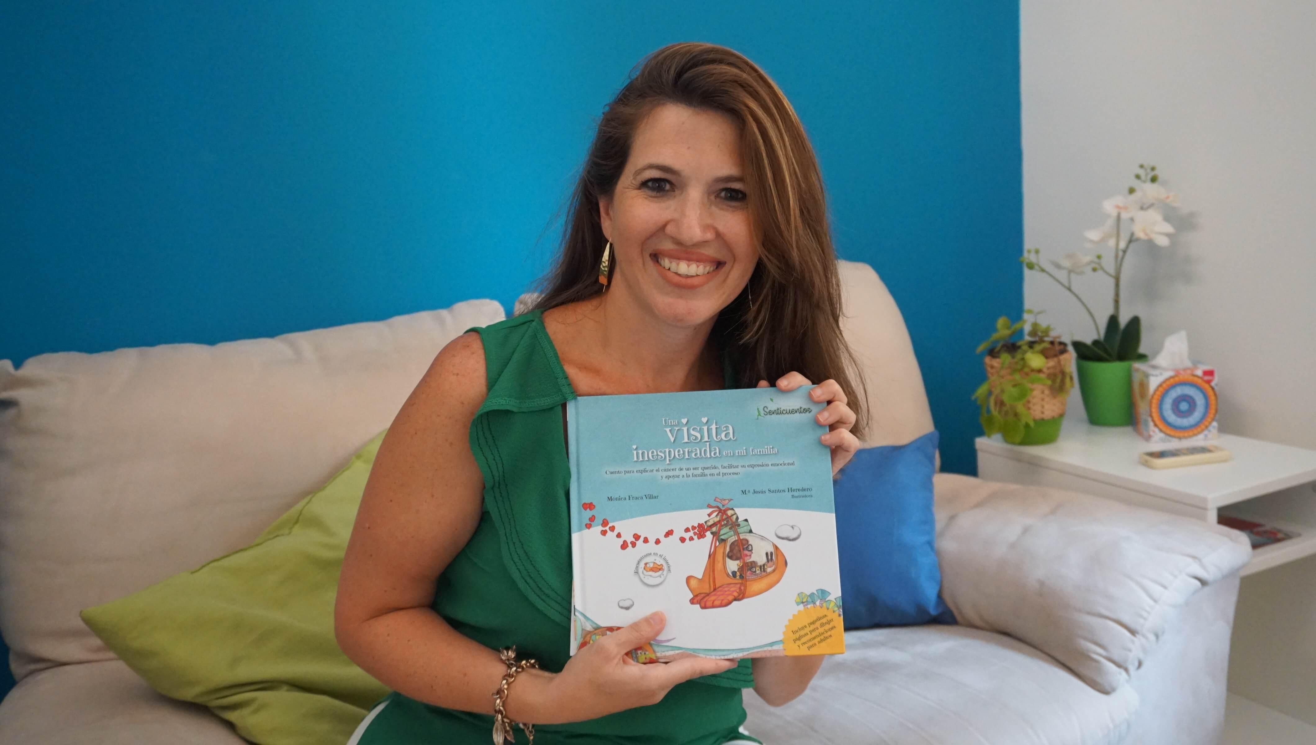 Mónica Fraca Villar, autora del libro