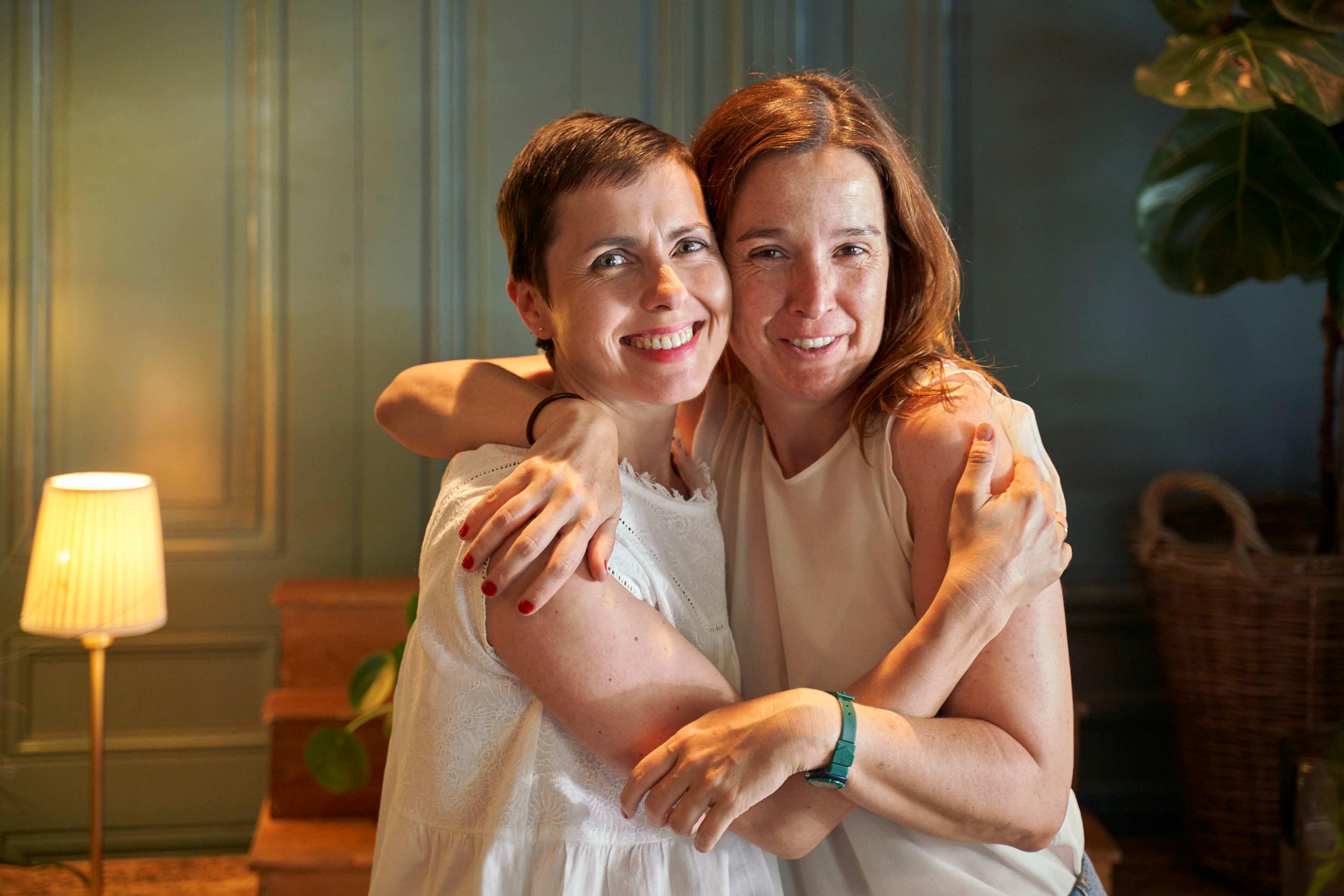 Elena y Estefania: cáncer y amistad