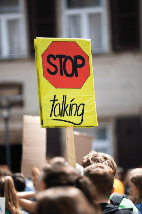 Prohibido quejarse o la dictadura del positivismo Foto: Markus Spiske on Unsplash