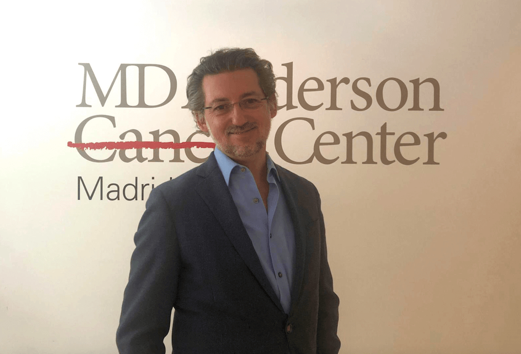 Dr. Cubedo, MD Anderson Cancer Center Madrid