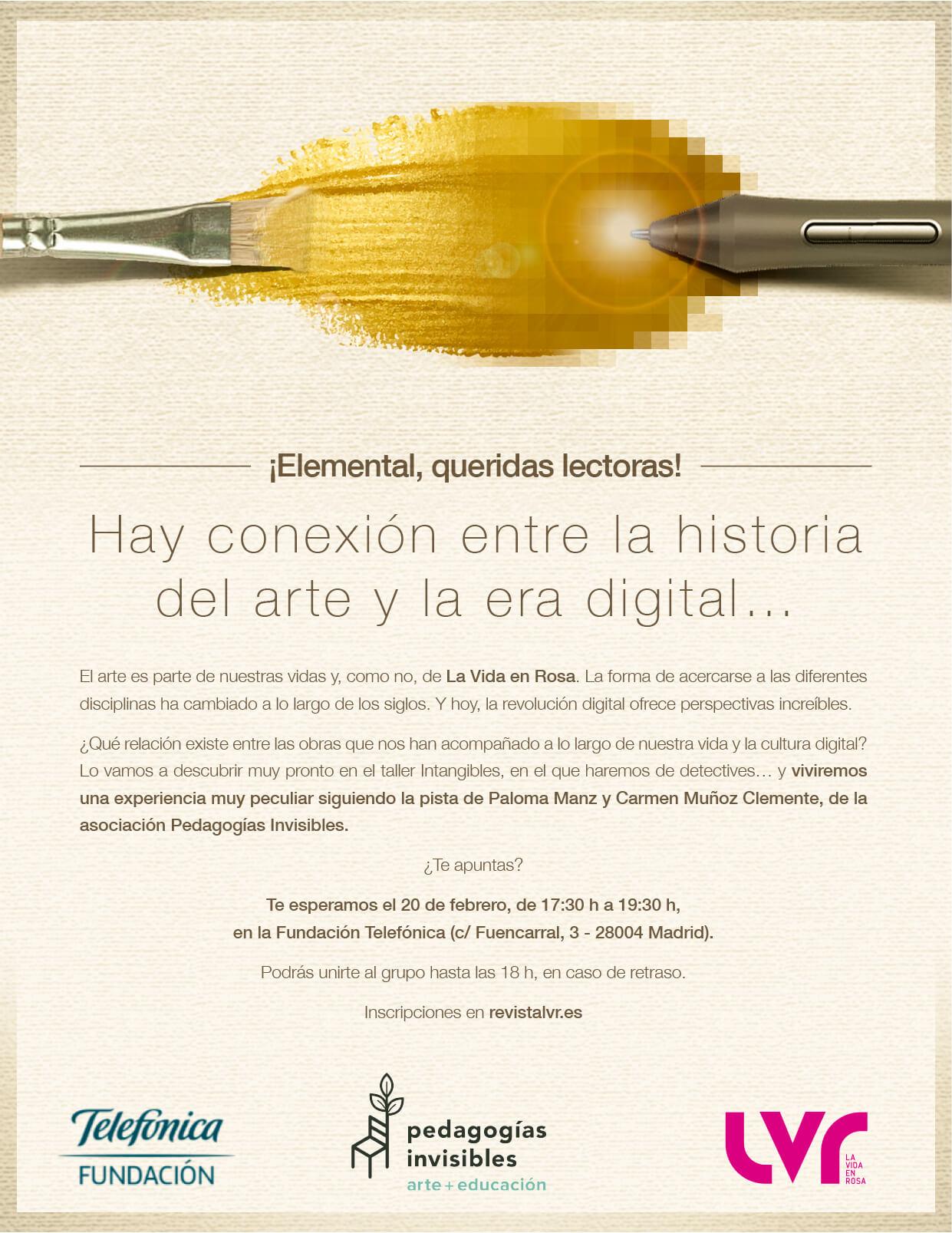 Hay conexión entre la historial del arte y la era digital